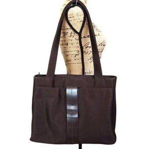 Kenneth Cole Brown Professional Tote Shoulder Bag*
